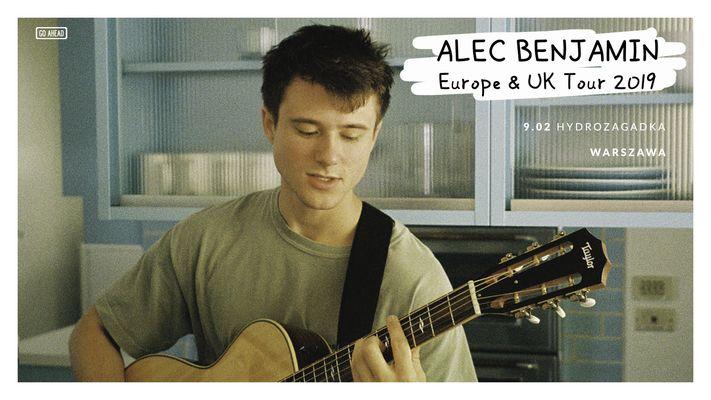 Bilety kolekcjonerskie - Alec Benjamin