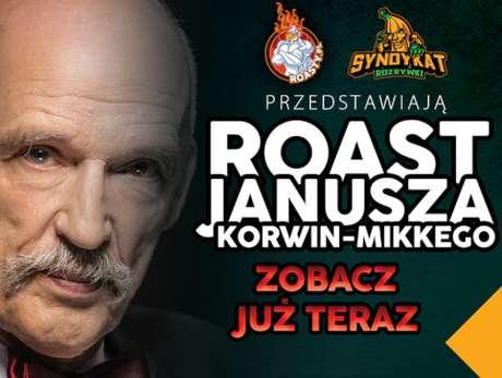 Roast Janusza Korwin-Mikkego - bilety