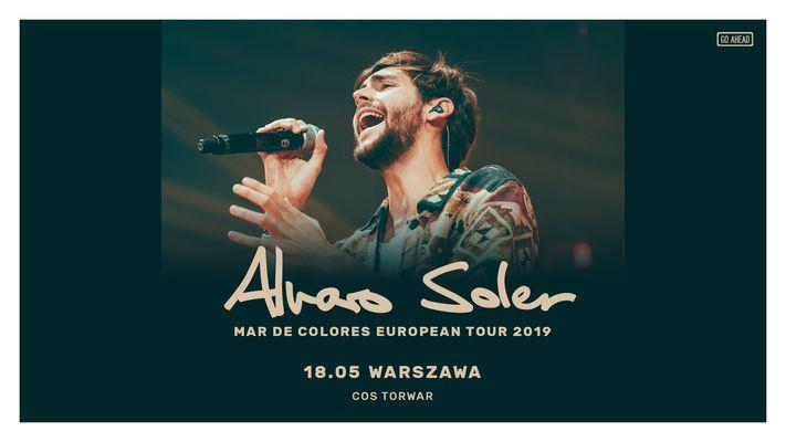 Bilety kolekcjonerskie - Alvaro Soler