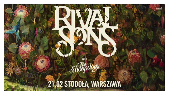 Bilety kolekcjonerskie - RIVAL SONS