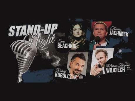STAND UP NIGHT: Tomasz Jachimek, Robert Korólczyk, Ewa Błachnio, Marcin Wojciech - bilety
