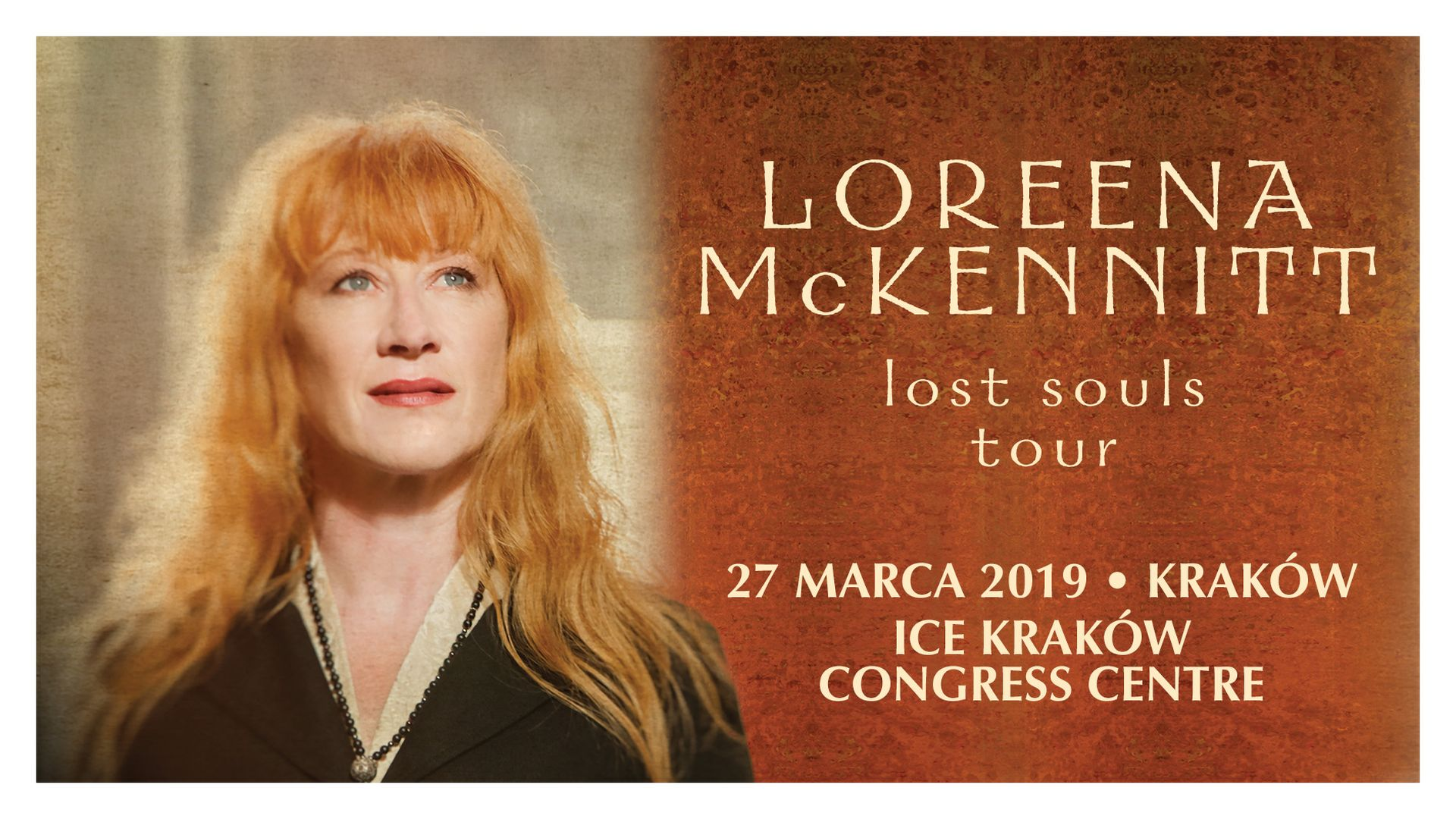 Bilety kolekcjonerskie - Loreena McKennitt