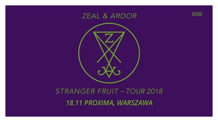 Bilety kolekcjonerskie - Zeal and Ardor