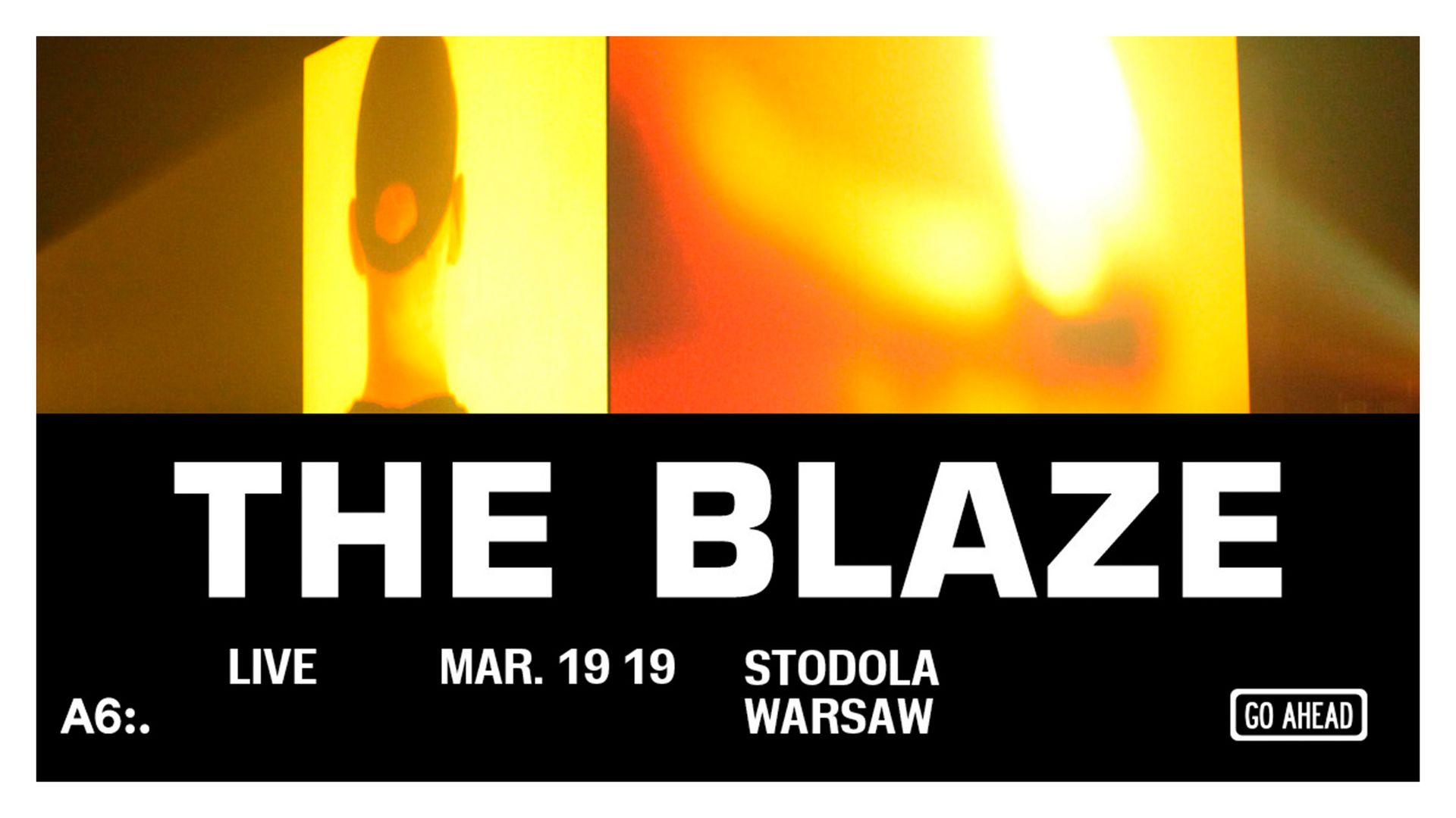 Bilety kolekcjonerskie - The Blaze