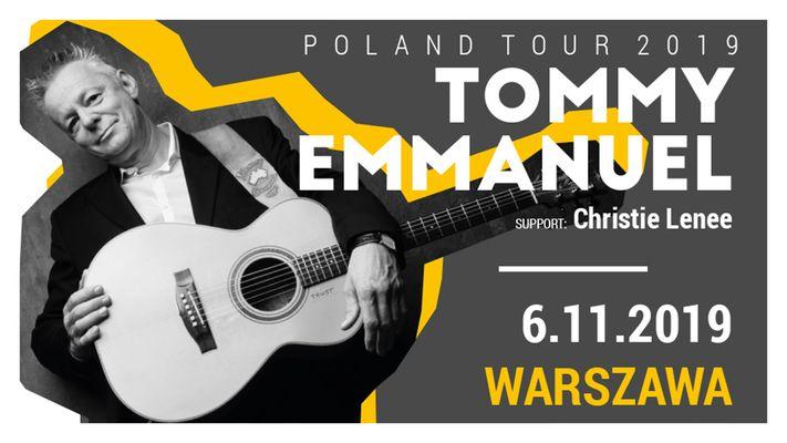 najlepszy nowy produkt tani Bilety na Tommy Emmanuel - Warszawa - Klub Stodoła, Środa, 06 listopada 2019