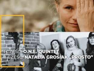 """LAJ XIII - O.N.E. QUINTET / NATALIA GROSIAK """"PROSTO"""" - bilety"""