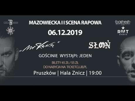 Mr Kękę x Słoń x Jeden - bilety