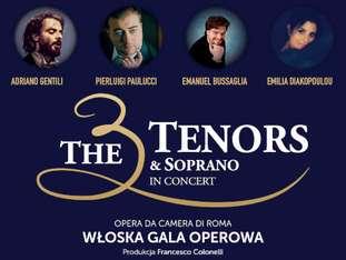 The 3 Tenors & Soprano - bilety
