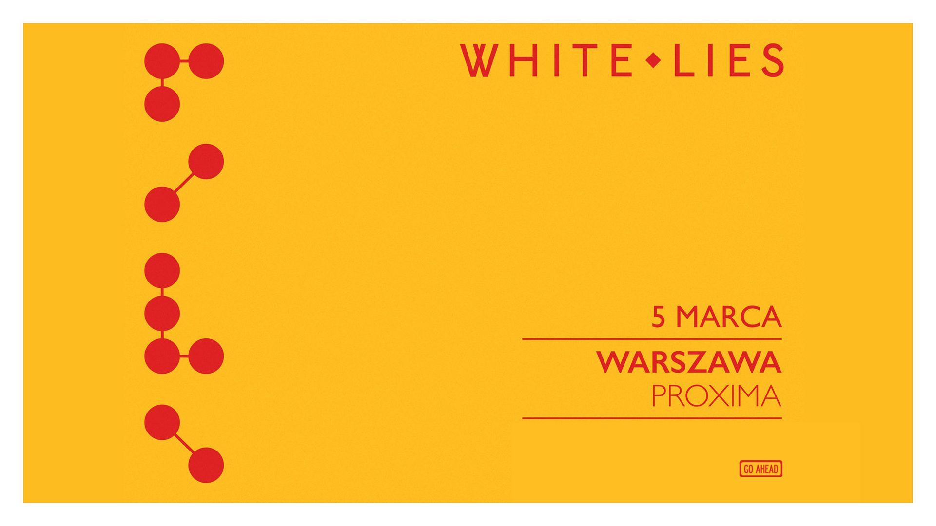 Bilety kolekcjonerskie - White Lies