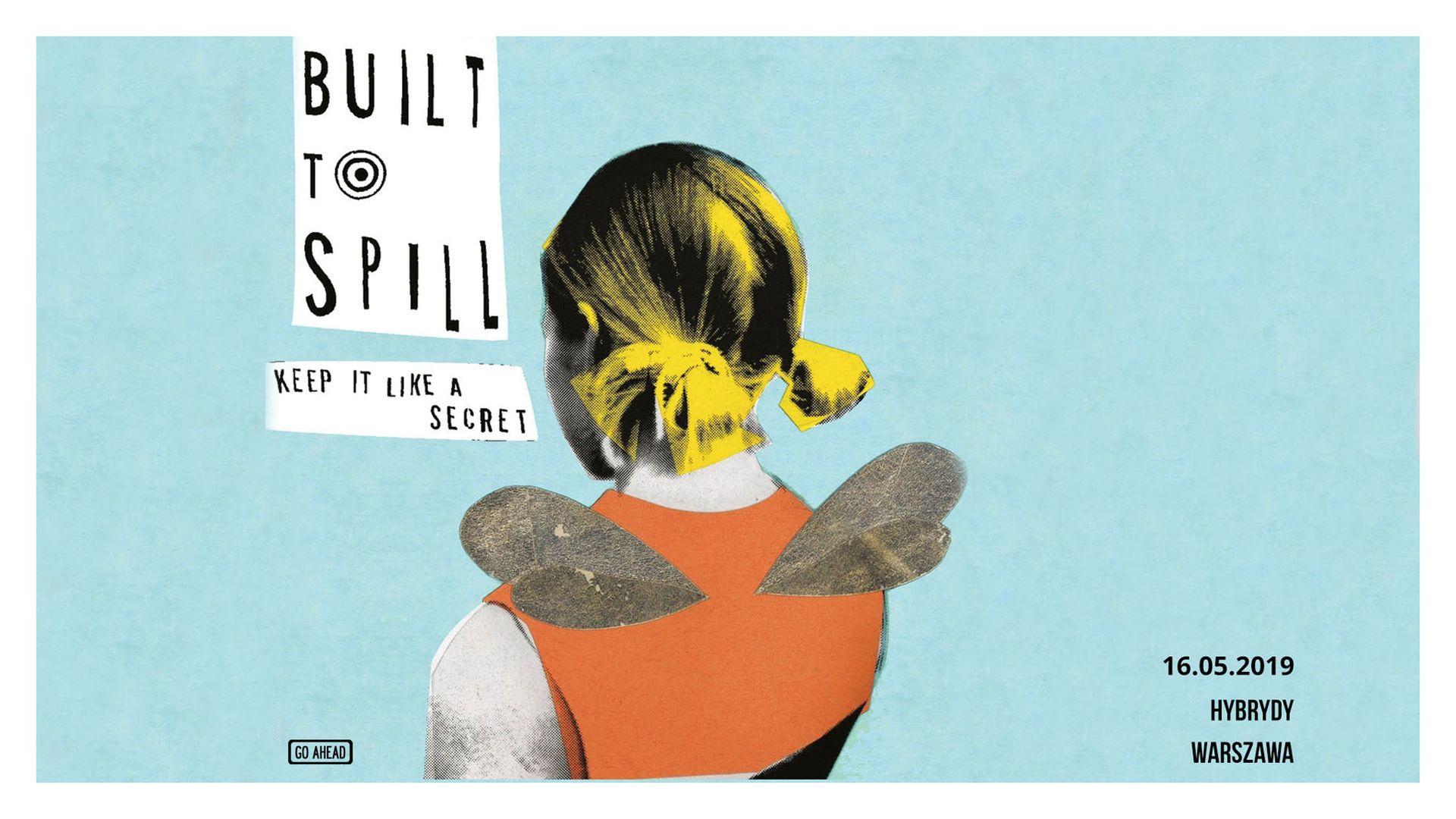 Bilety kolekcjonerskie - Built To Spill