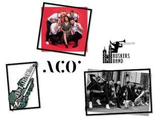 Synestezje: Buskers Band, Aco Projekt, Ad Libitum - bilety