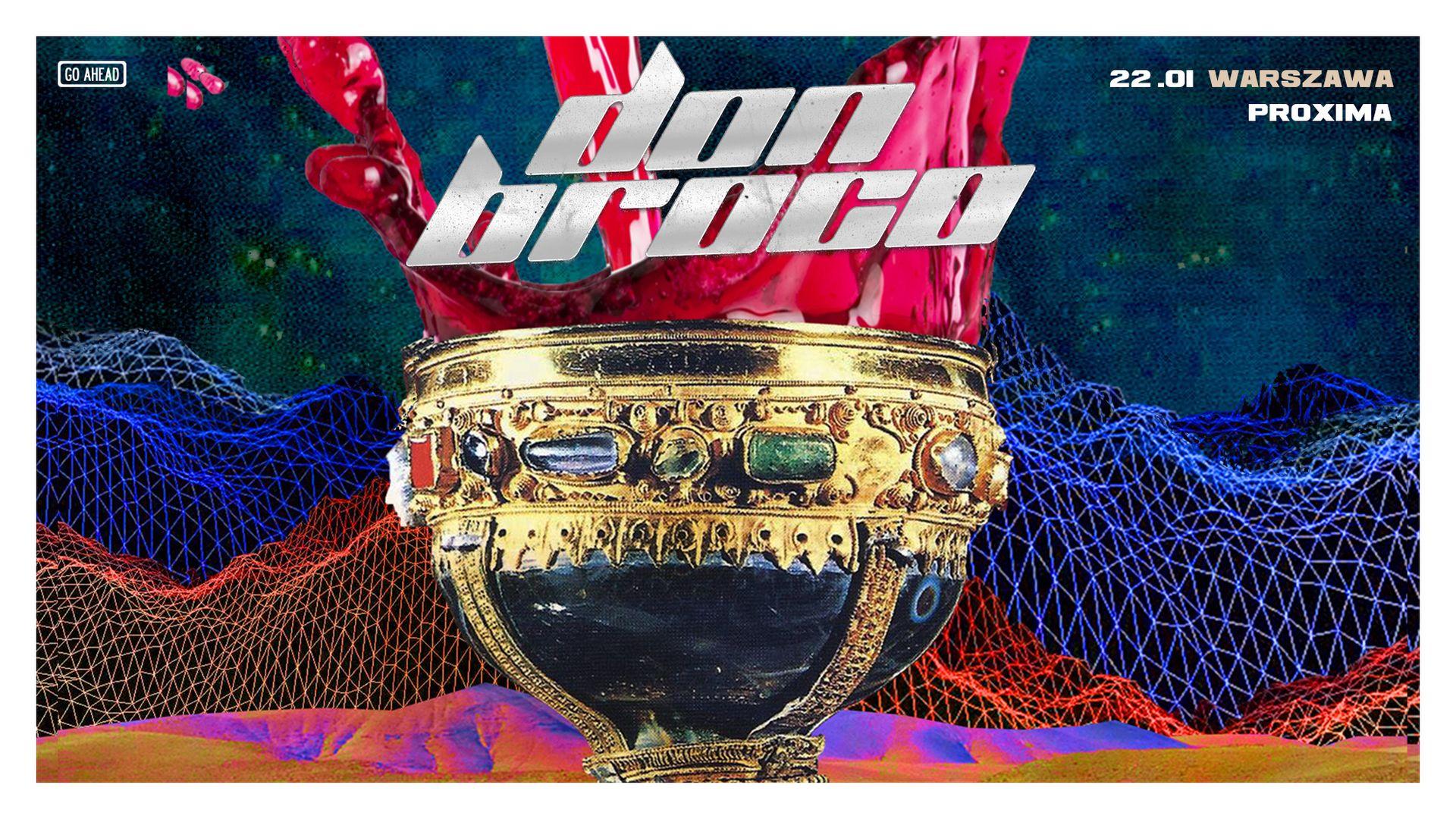 Bilety kolekcjonerskie - Don Broco