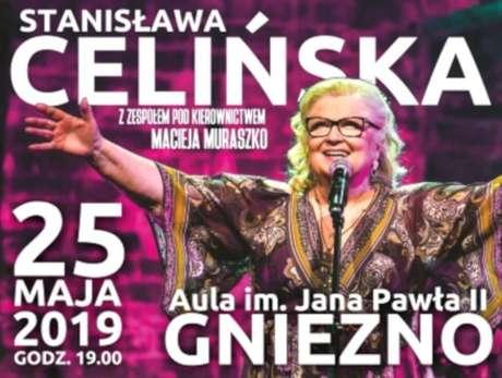 Stanisława Celińska z zespołem pod kierownictwem Macieja Muraszko - bilety