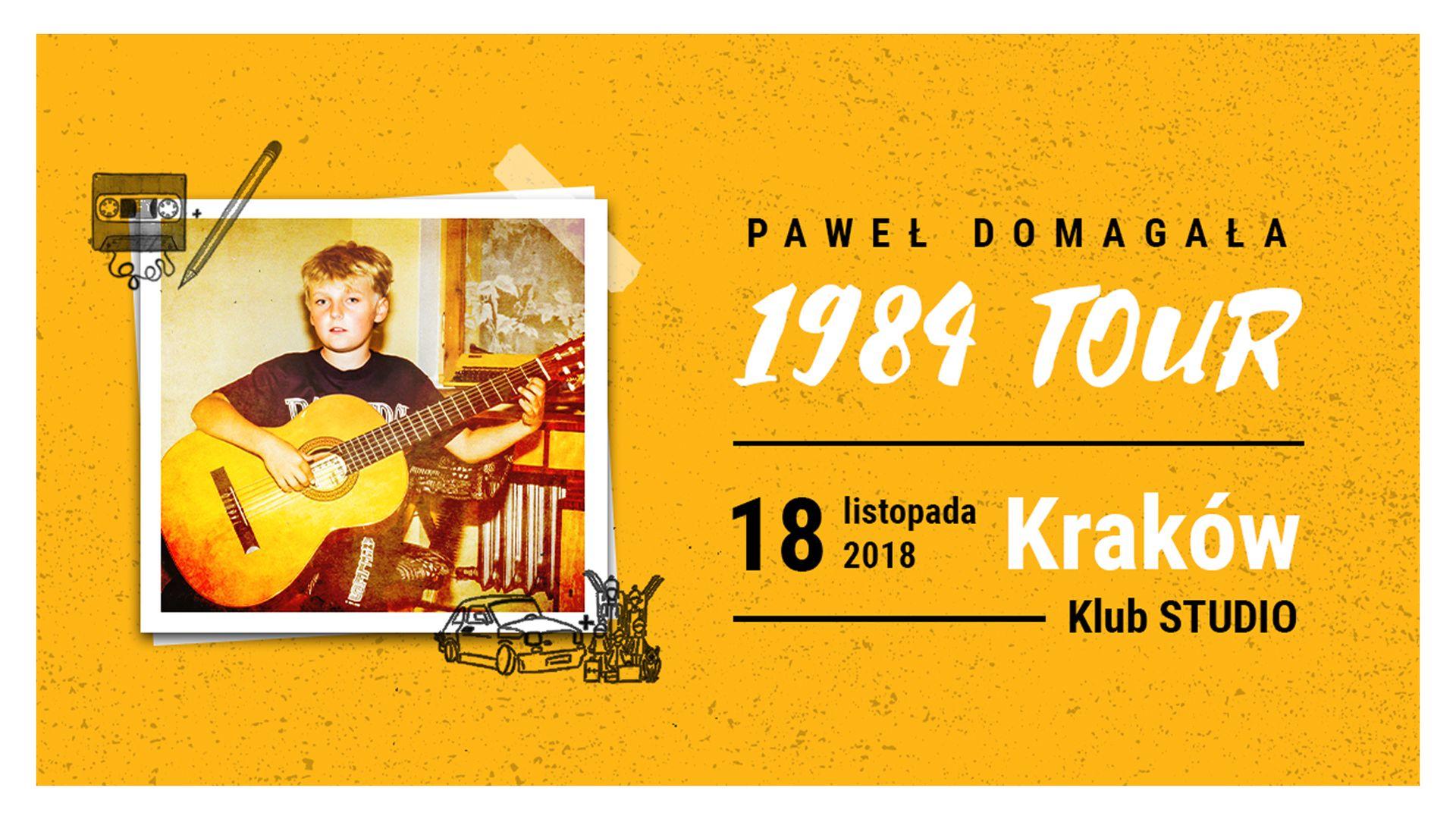 Bilety kolekcjonerskie - Paweł Domagała 1984 Tour