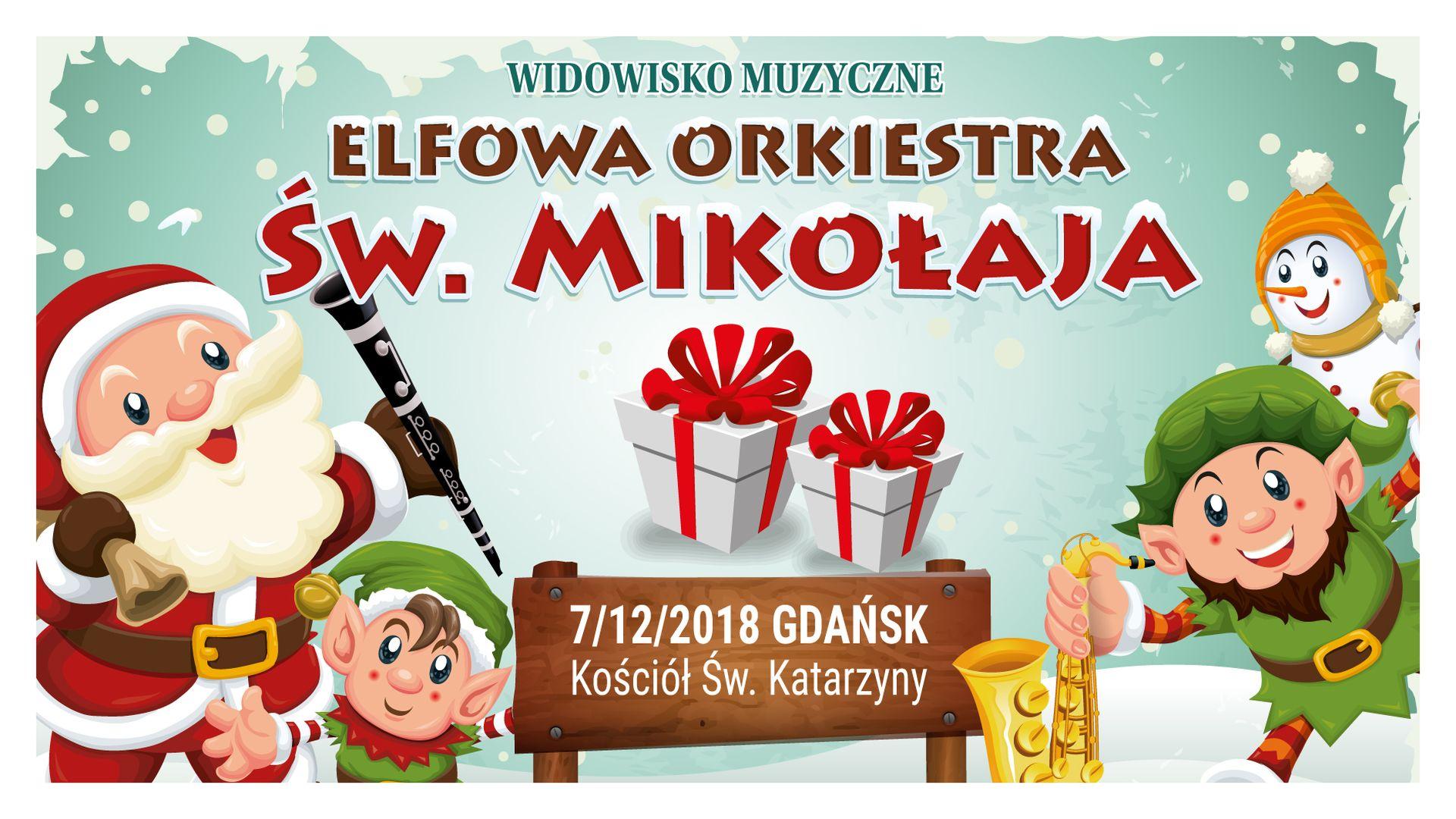 Bilety kolekcjonerskie - Elfowa Orkiestra Św. Mikołaja