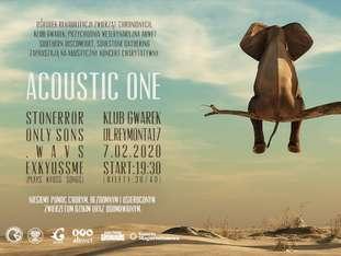 Acoustic One - koncert charytatywny - bilety