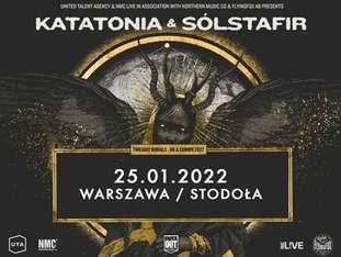 Katatonia + Solstafir - bilety