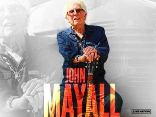 John Mayall - bilety