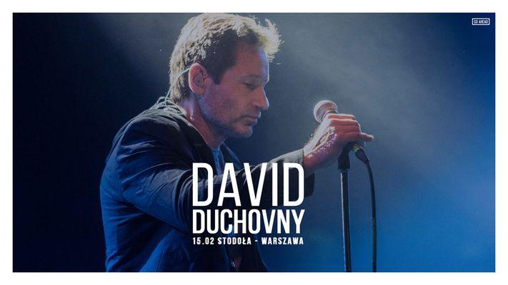 Bilety kolekcjonerskie - David Duchovny