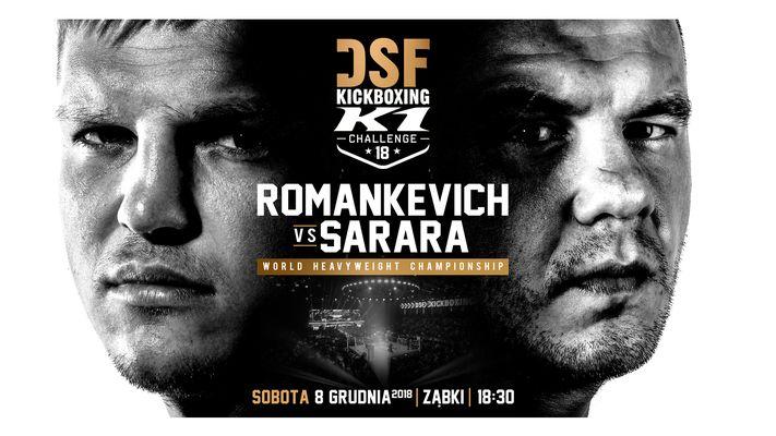 Bilety kolekcjonerskie - DSF Kickboxing Challenge 18 ZĄBKI