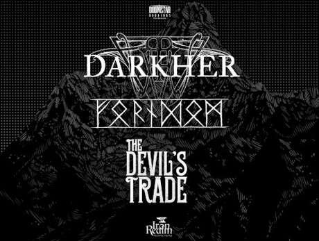 Darkher + Forndom + Devil's Trade - bilety