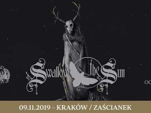 Swallow The Sun + Oceanwake + October Tide - bilety