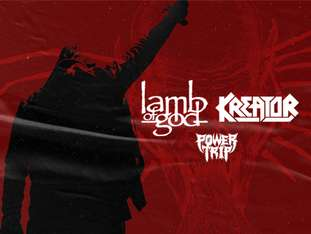 Lamb Of God, Kreator + Power Trip - bilety