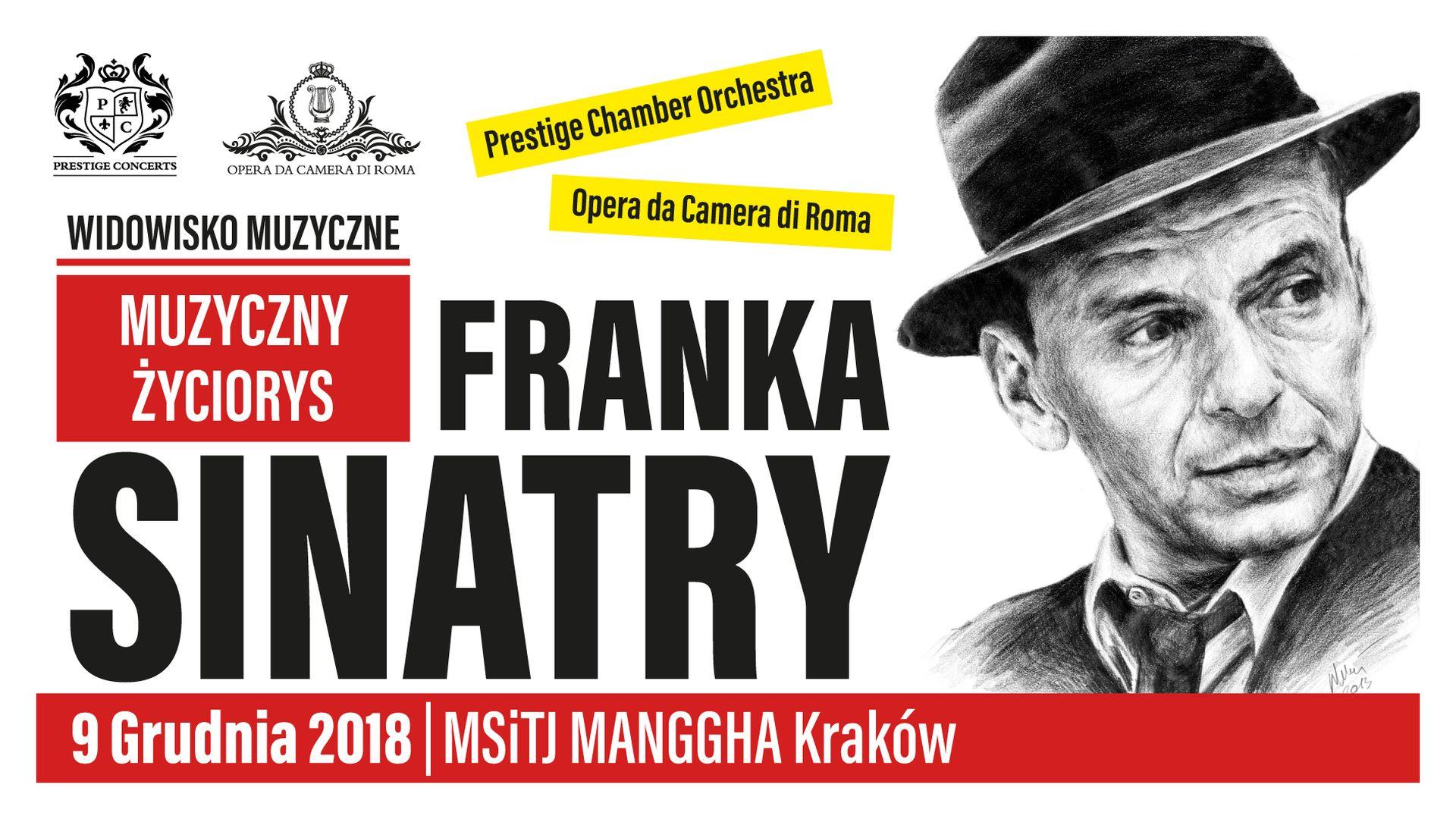 Bilety kolekcjonerskie - Muzyczny życiorys Franka Sinatry