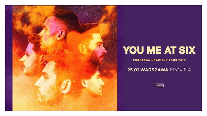 Bilety kolekcjonerskie - You Me At Six