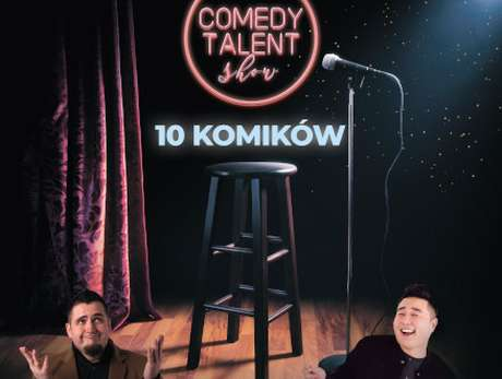 Comedy Talent Show Komik 2020 - Poznań - bilety
