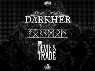 Darkher + Forndom + Devil's Trade - bilety