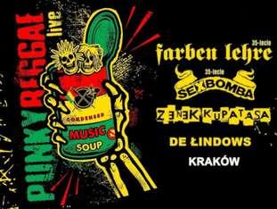 Punky Reggae Live: Farben Lehre + Sexbomba + Zenek - bilety