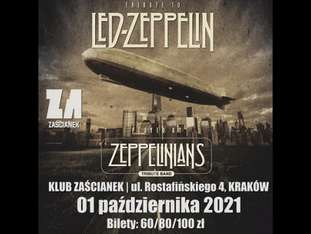 LED ZEPPELIN show by Zeppelinians - bilety