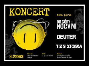 Tzn Xenna + Deuter + Do Góry Nogami - bilety
