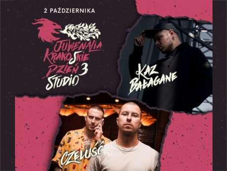 CZELUŚĆ x Kaz Bałagane - Juwenalia Krako(w)skie 2021 - bilety