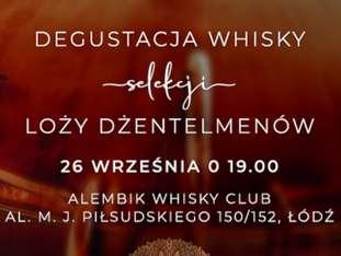 Degustacja whisky selekcji Loży Dżentelmenów - bilety