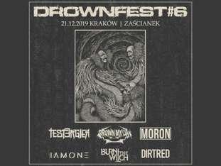Drownfest#6: Drown My Day, Tester Gier + goście! - bilety