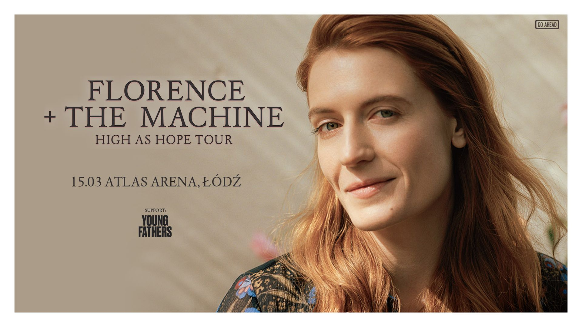 Bilety kolekcjonerskie - Florence and the Machine