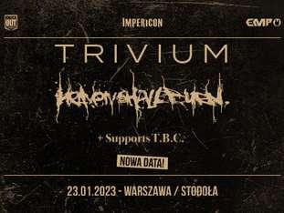 Trivium + Heaven Shall Burn - bilety