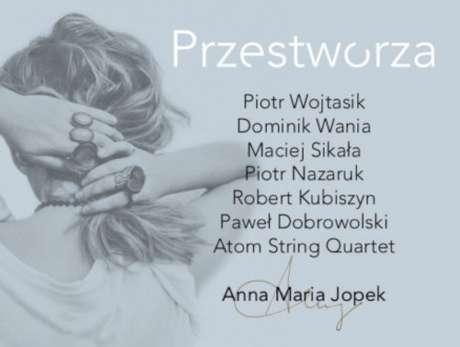 """Anna Maria Jopek """"Przestworza"""" - bilety"""