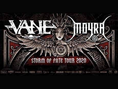 Storm of Fate Tour: Vane, Moyra, Gentuza, Spatial - bilety