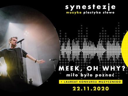 Synestezje: Meek, Oh Why? - zdjęcie główne wydarzenia