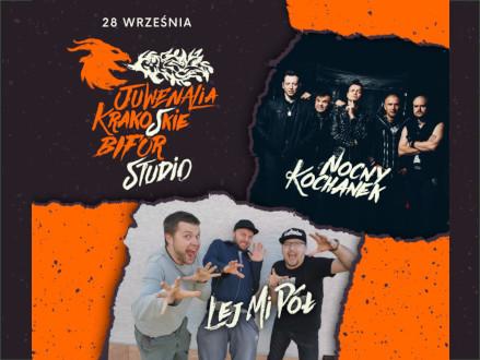 Nocny Kochanek x Lej Mi Pół x Transgresja - Juwenalia Krako(w)skie 2021 - zdjęcie główne wydarzenia
