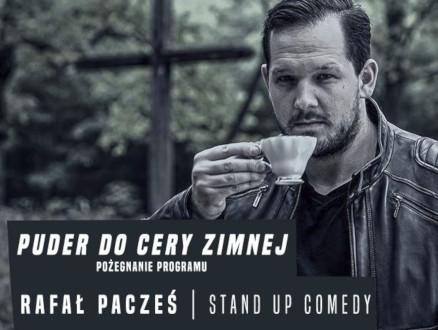 """Rafał Pacześ w programie """"Puder do cery zimnej"""" / pożegnanie programu - zdjęcie główne wydarzenia"""