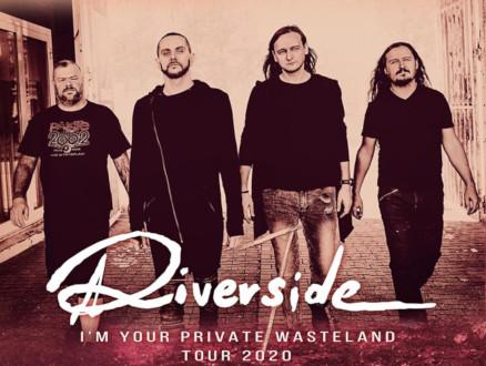 """Riverside - """"I'm Your Private Wasteland Tour 2020"""" - zdjęcie główne wydarzenia"""