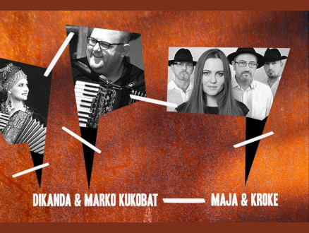 Synestezje: Dikanda & Marko Kukobat / Kroke & Maja Sikorowska - zdjęcie główne wydarzenia