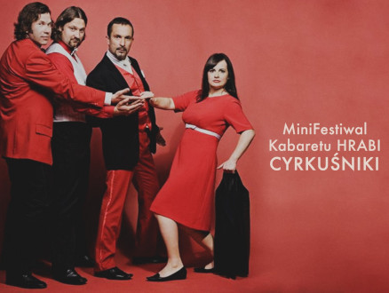 """MiniFestiwal Kabaretu HRABI - """"Cyrkuśniki"""" - zdjęcie główne wydarzenia"""